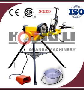 Hongli sq50d portable pipa eléctrica enhebrador con hss muere, Ce y csa, 1500 w