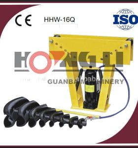 Venta caliente 16 t aire hidraulica 3 pulgadas HHW-16Q doblador de tubo con ce