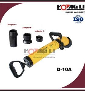 D-10a mejor inodoro limpiador de drenaje de aire/máquina limpiador de drenaje manual