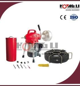 D75 inodoro limpiador de pipa/tubo de desagüe de la máquina de limpieza con ce