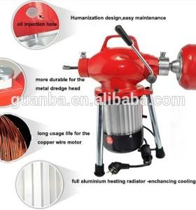 Hongli d75 drenaje pipe cleaners/máquina de limpieza de drenaje para la venta/máquina de limpieza de tuberías