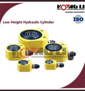 Baja altura cilindros hidraulicos/extractor telescópica cilindros hidraulicos