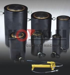 HL-L aluminio fabricante con precio fabrica cilindros hidraulicos, hecho en china
