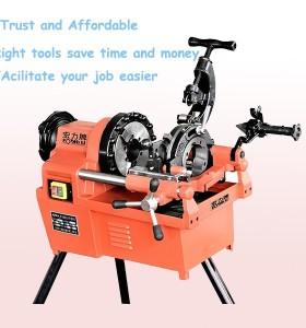 Hongli SQ50B tubería máquina roscadora, máquina roscadora eléctrica 2
