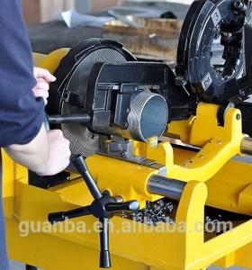 SQ100F carbon máquina roscadora de tubos de acero fabricante