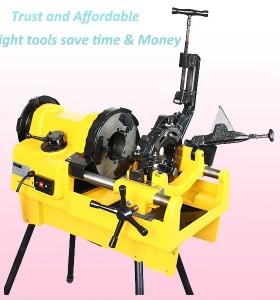 Máquina roscadora SQ100F pipa eléctrica/máquina roscadora eléctrica 4