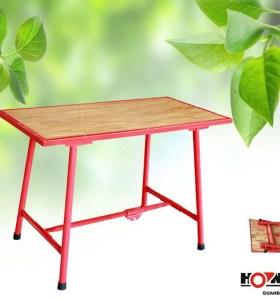 Hongli h403 mesas plegables de madera/banco de trabajo de madera de trabajo