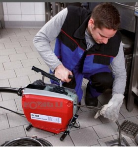 Hongli d150 limpiador de drenaje/alcantarillado tubería de desagüe de máquina de limpieza