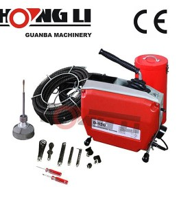 Hongli d150 tubería de alta calidad máquina de limpieza, Limpiador de pipa