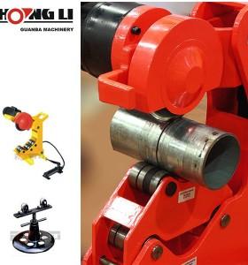 Hongli portable tubo de metal herramienta de corte de la máquina/hoja de corte de tubos qg8/qg12