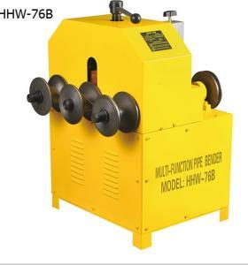 HHW-G76 multifuncional hidraulica doblador de tubo con ce