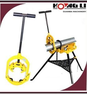 Hongli h4s/H6S/h8s manual máquina de corte para tubo