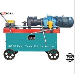 12-50mm rebar thread rolling machine/máquina de laminado de roscas de tornillo HL-50