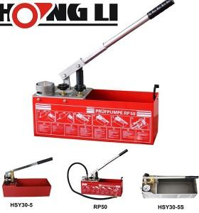 Hongli bomba de prueba de presión de la mano/de alta presión bomba de prueba (rp50)