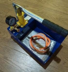 HSY25 25bar 3 kg extractor hidraulica bomba de prueba de mano