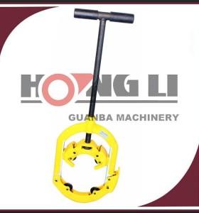 Hongli h4s/H6S/h8s mano operado máquina de corte de varilla de acero