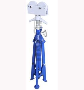 Hongli 1109 rodillo de tubo ajustable soporte para 2