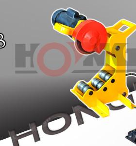 Hongli qg8 máquina de corte de tubos de acero/qg12