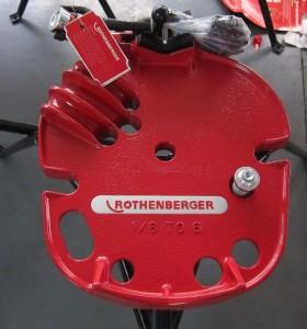 Hongli H401vise para tuberías (rothenberger)