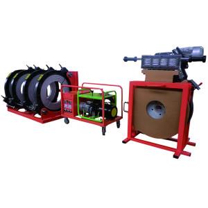 Tubo fusión a tope la máquina de soldadura/tubo máquina de fusión
