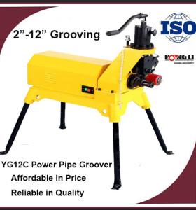 YG12C Potencia Tubería Hidráulica Groover