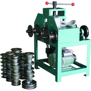 HHW-G76 multifuncional hidráulico dobladora de tubos/rodando máquina dobladora de tubos