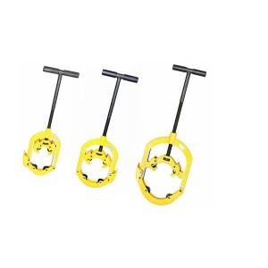 H4s, H6S, h8s bisagras pipe cutter/tubería de acero portable máquina cutter, 4