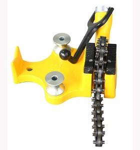 H402 cadena tubo vice/tubo de tornillo de banco