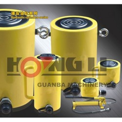 Hongli carrera larga cilindros hidraulicos/$ number etapas de carrera larga cilindros hidraulicos