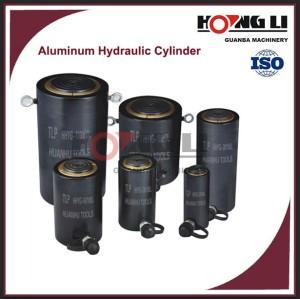 HL-L aluminio cilindros hidraulicos con fabrica precio, hecho en china