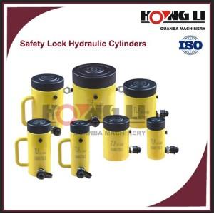 HL-LS seguridad contratuerca hidraulica cilindros con fabrica precio, hecho en china