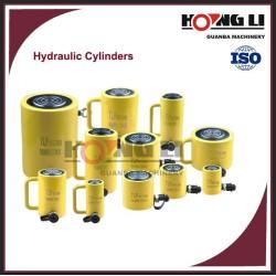 Professionnel à double effet longue/court. cylindre hydraulique de course, ce