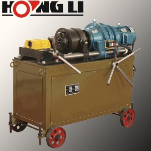Hongli rebar thread rolling machine/usado máquina de laminado de roscas (HT-40T)