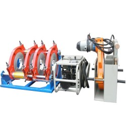 Hongli máquina de soldadura de tuberías de hdpe/hdpe maquina soldadura a tope (160mm-315mm)