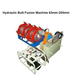 Hongli tubería hdpe máquina de soldadura por fusión a tope (63mm-200mm)
