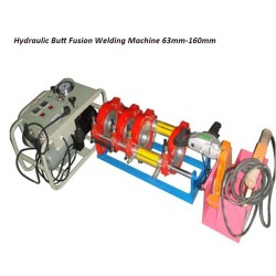 Hongli tubería hidraulica de fusión a tope máquina de soldadura (63mm-160mm)