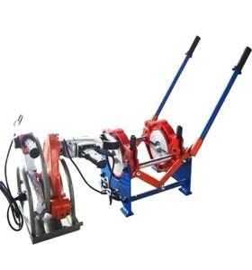 Hongli manual máquina de soldadura por fusión a tope de tuberías (63mm-160mm)