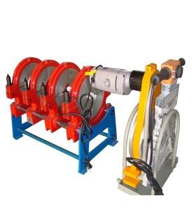 Hongli manual máquina de soldadura de tuberías de plástico (90mm-250mm)