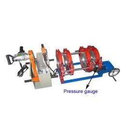 Hongli pe tubería máquina de soldadura por fusión a tope manual (63mm-200mm)