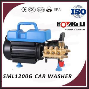 1000Psi alta presión Eléctrica lavadora/lavado de automóviles máquina precio SML1200G