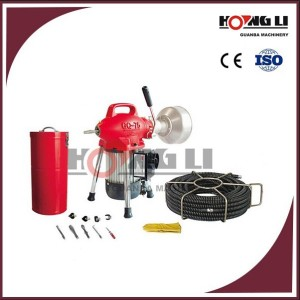 D75 eléctrico drain pipe cleaner máquina/residuos desagüe del fregadero limpiador para uso doméstico, 250 w