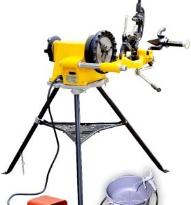 Hongli máquina roscadora sq50d pipa eléctrica