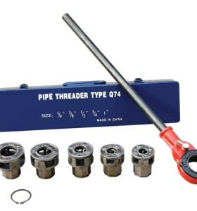 HLD-Q74 trinquete enhebrador tubería kit 1/4