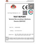 Test Report for Pipe Threading Machines