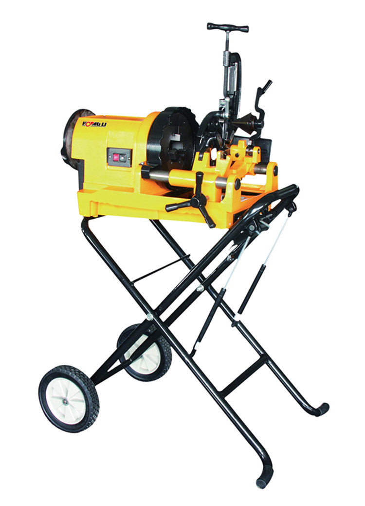 SQ80C1 compact pipe threader with trolley