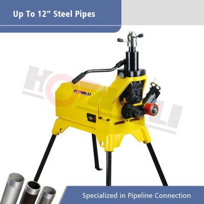 YG12E Hydraulic Pipe Grooving Machine untuk Max 12