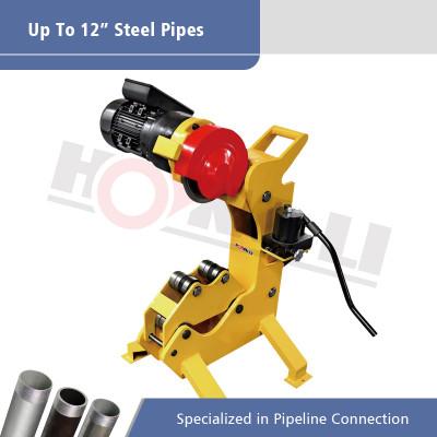 QG12C Sin chispa Cortador de tubos de energía hidráulica para tubos de acero de 12