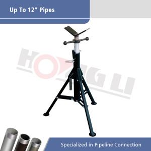 Tomas de tubo de acero plegables de la serie 1107 para tubos Max 12