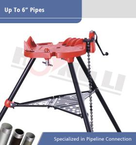 Tornillo de cadena Tri-stand H401 Pipe para tubos de 1/8