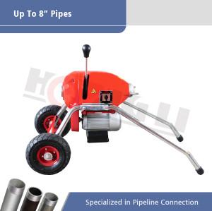 D200 Máquina de limpieza de drenaje seccional eléctrica